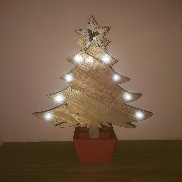 Side-lighted pallet  tree