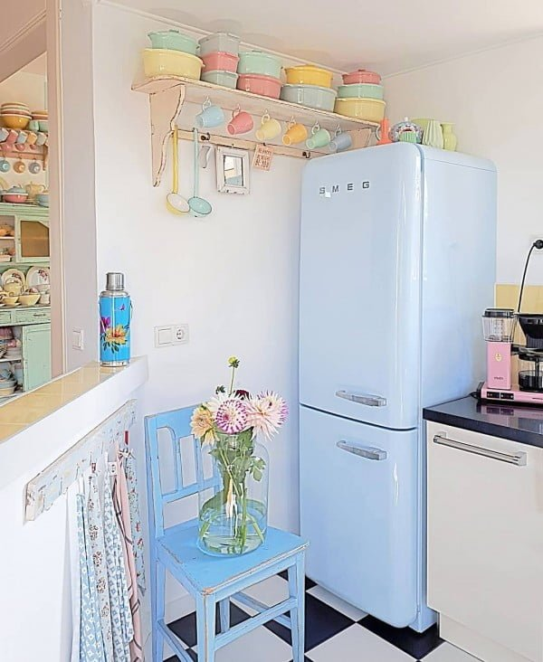 The Rainbow of Pastels #kitchendesign