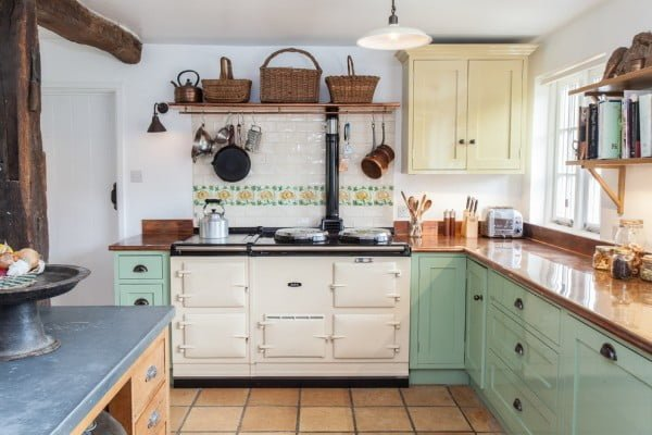 Rustic Retro Kitchen #kitchendesign