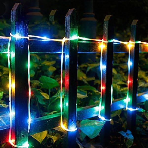 RGB solar rope lights