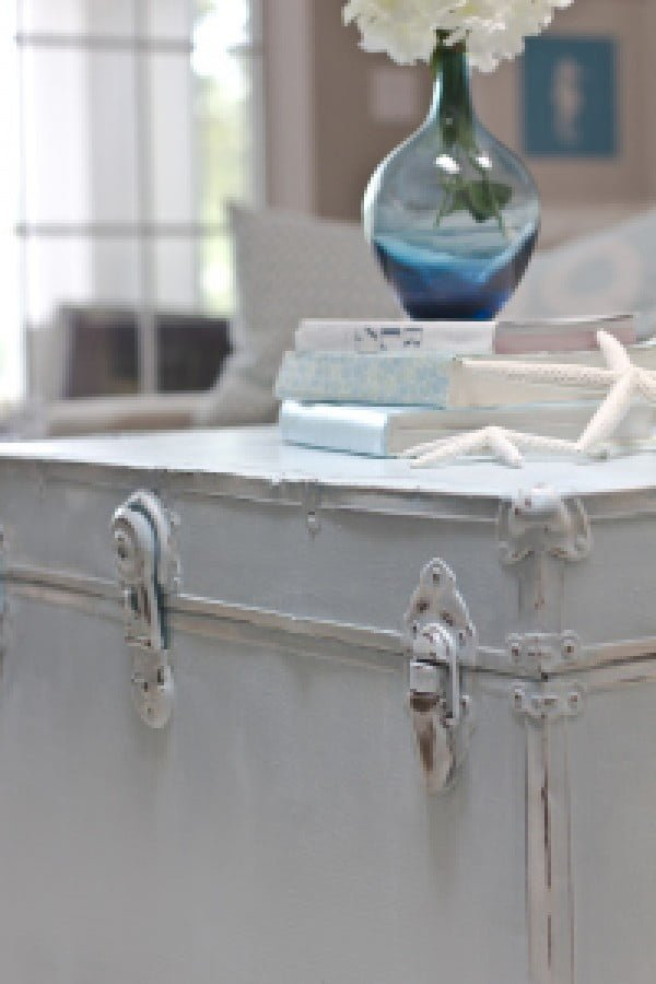 Vintage Shabby Chic Chest Coffee Table
