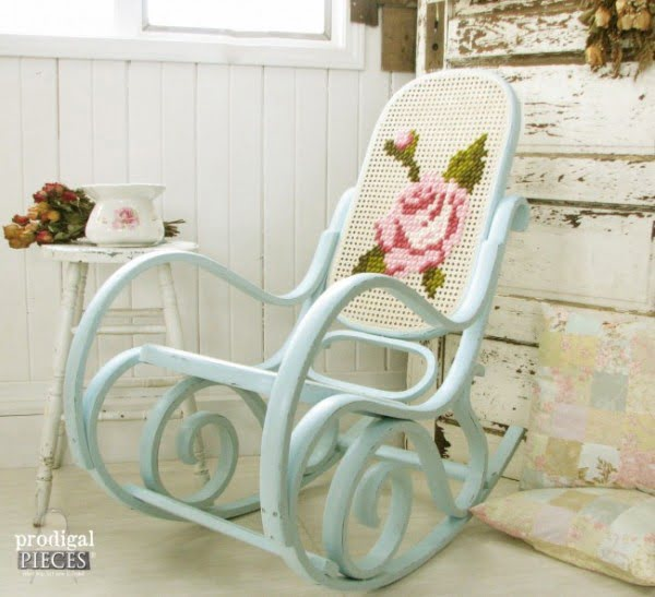 Shabby Chic Rocking Chair