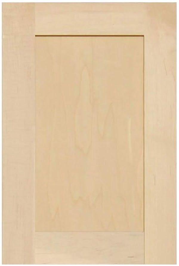 Shaker maple cabinet doors