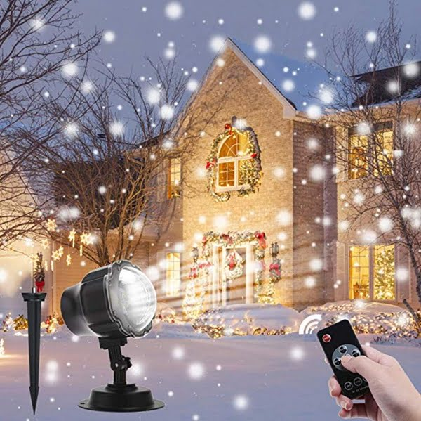 Snowfall Christmas Light Projector