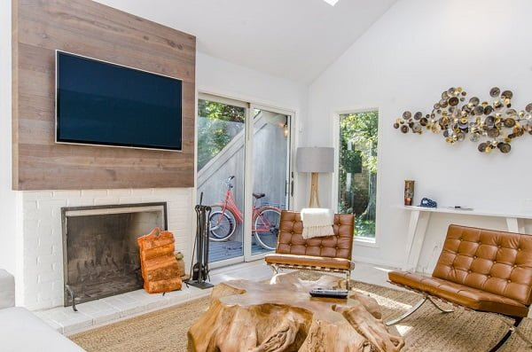 TV decor accent wall