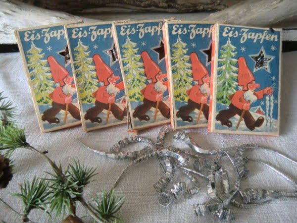 Vintage Icicle Christmas Decorations