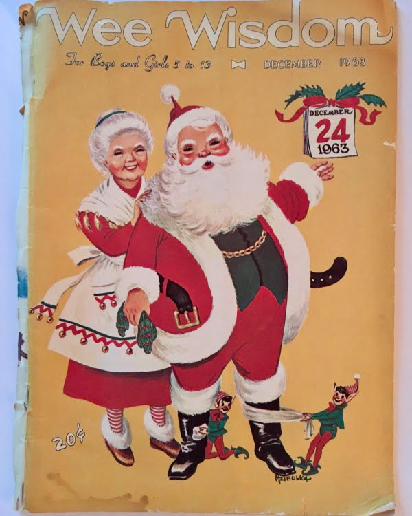 Vintage Magazine Christmas Decoration