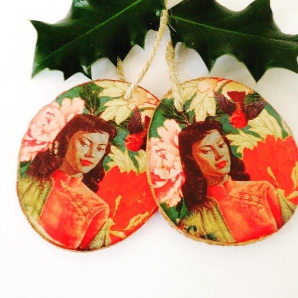 Vintage Oriental Christmas Decoration