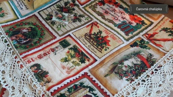 Vintage Christmas Doilies Decoration