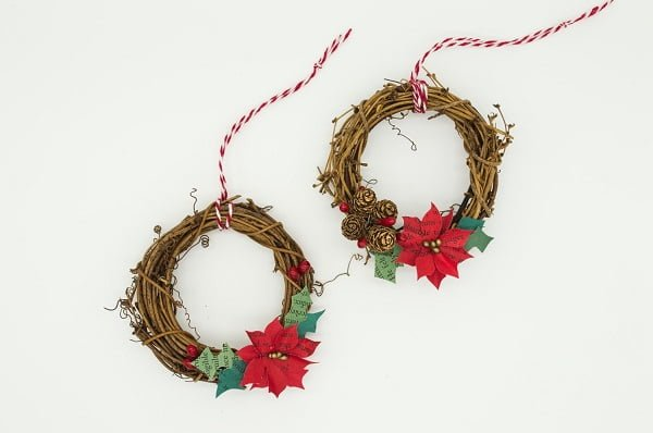 Vintage Christmas Wreaths