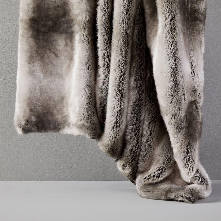 West Elm throw blanket