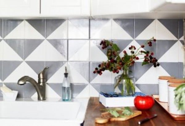 Cheap Tile Backsplash