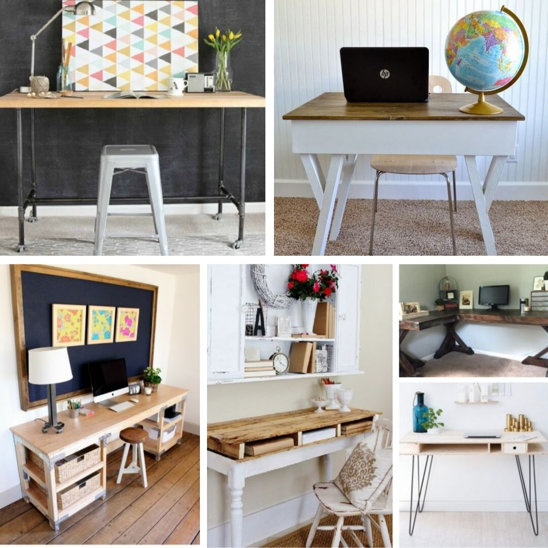 Home Desk Design Ideas: Build It Quickly And Cheaply