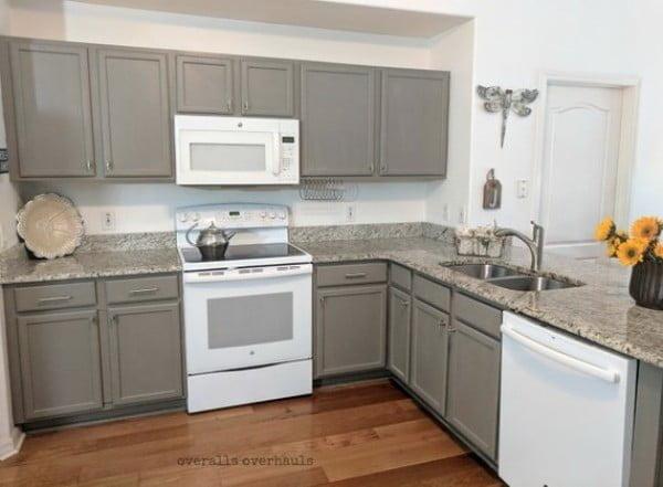 Grey Shaker Cabinets