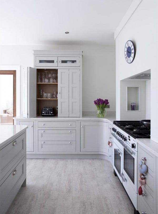 Light Grey Kitchen Cabinets