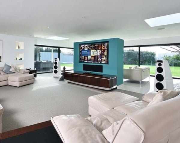 Futuristic Home Theater Design