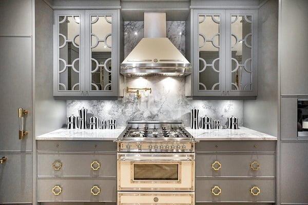 Luxury Grey Kitchen Cabinets