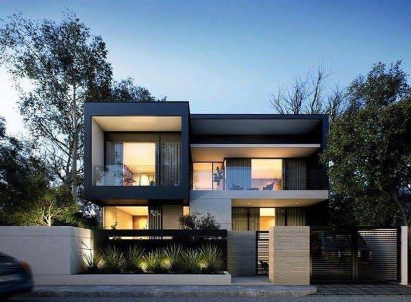 Black Modern House