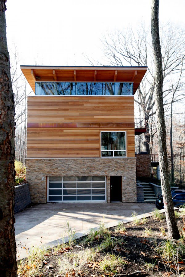 Wildewood Modern Log House