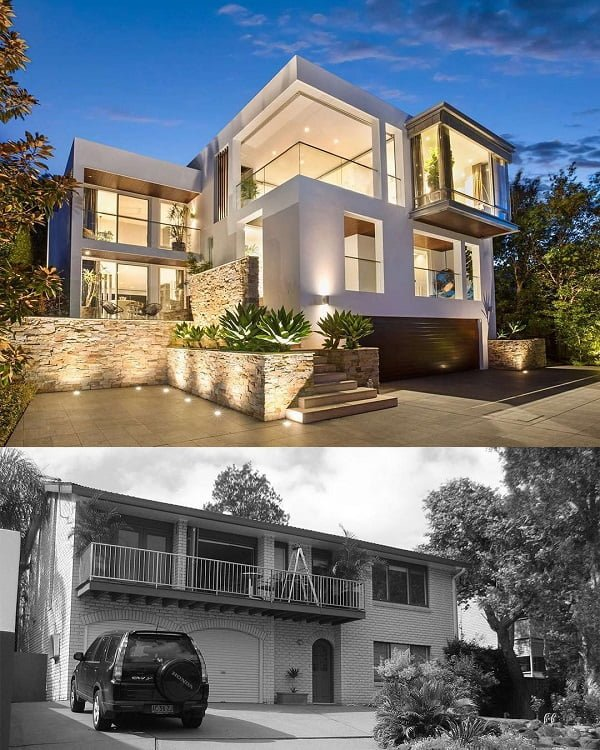 This Old 2-Story House Is Transformed Into An Amazing