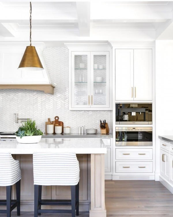 20 Best Modern White Kitchen Cabinet Ideas