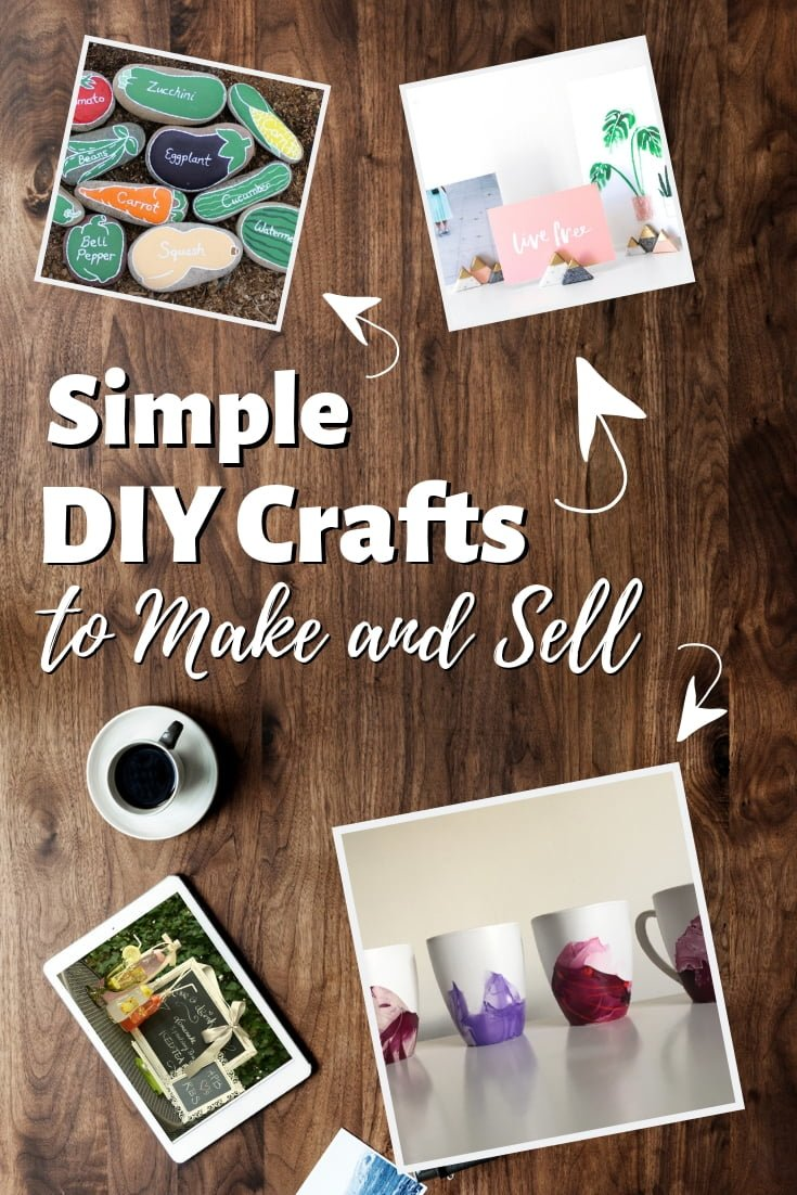 These are some of the best simple DIY crafts that you can make and sell. Great list!