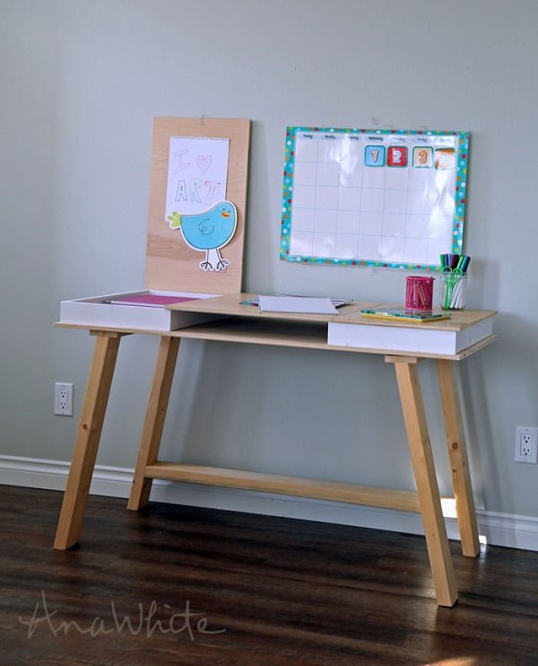 DIY 2x4 Desk