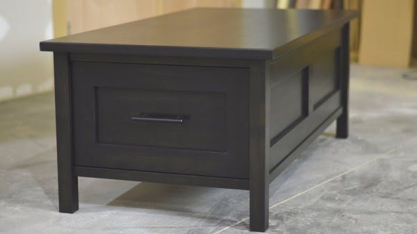 Lets build a coffee table with drawers #DIY #homedecor #furniture