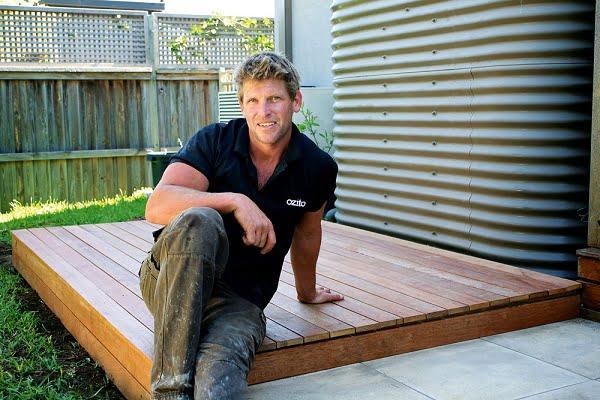 DIY freestanding deck plans #DIY #deck #woodworking
