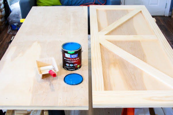 How to Build a Barn Door on a Budget - Laura Fuentes