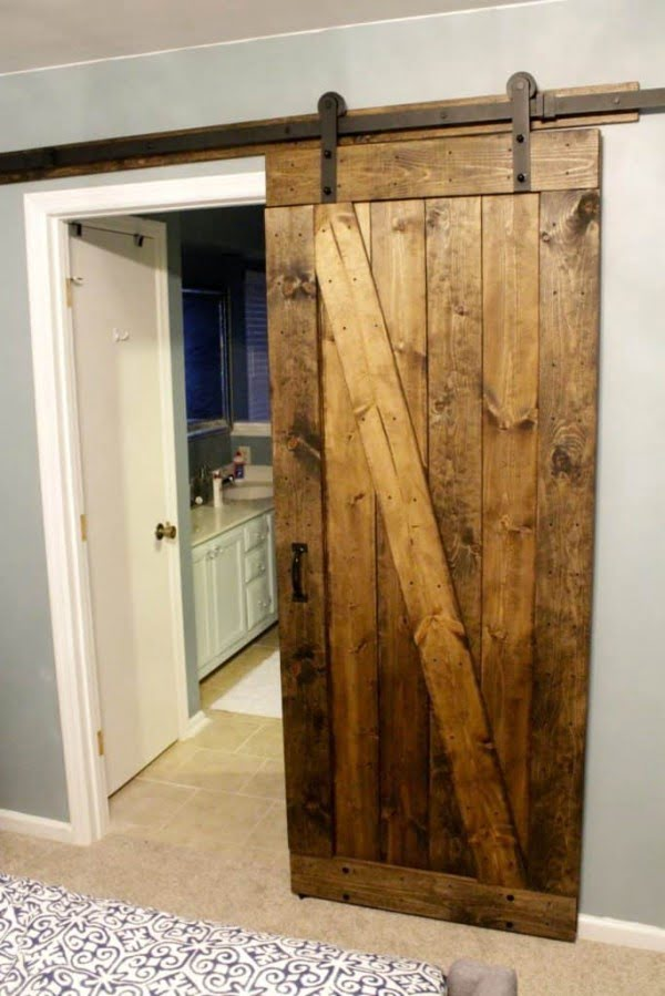 31 Simple Diy Sliding Barn Door Projects You Can Make In A Day