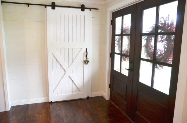 How to Build a Barn Door - Beneath My Heart