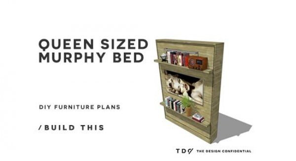 How to Build a Queen Sized Murphy Bed