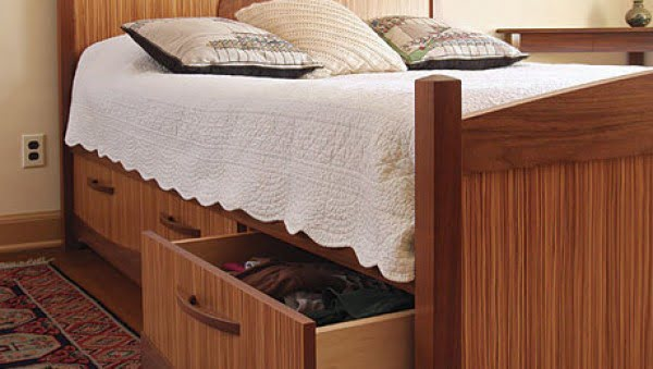 How to Build Storage into Any Bed - FineWoodworking