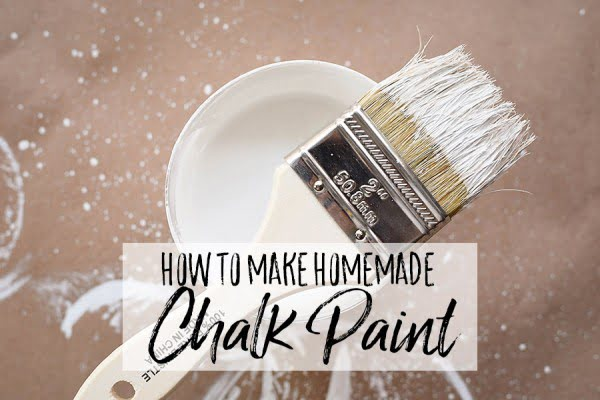 The Best DIY Chalk Paint Recipe