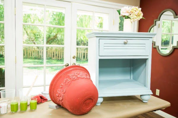Home & Family #DIY #homedecor #chalkpaint #makeover