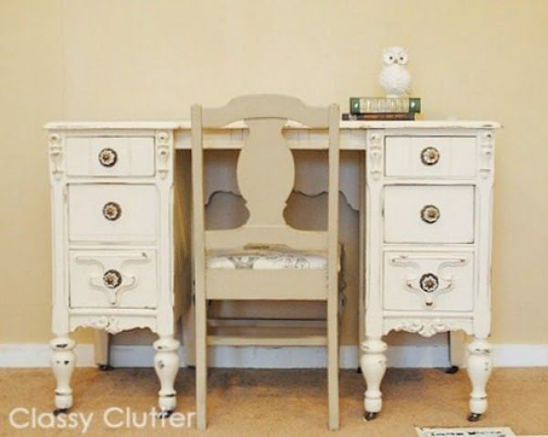 Chalk Paint Recipe and Chalk Paint Dresser Makeover #DIY #homedecor #chalkpaint #makeover