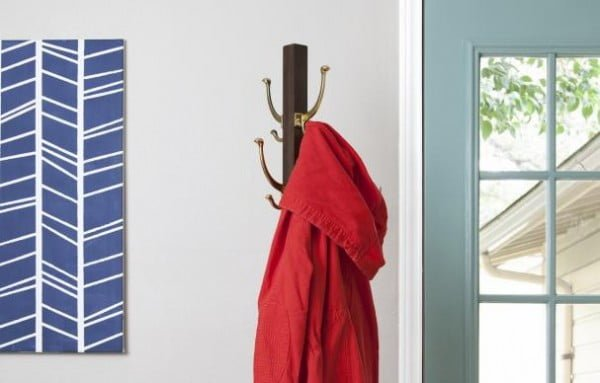 How to Build a Standing Coatrack