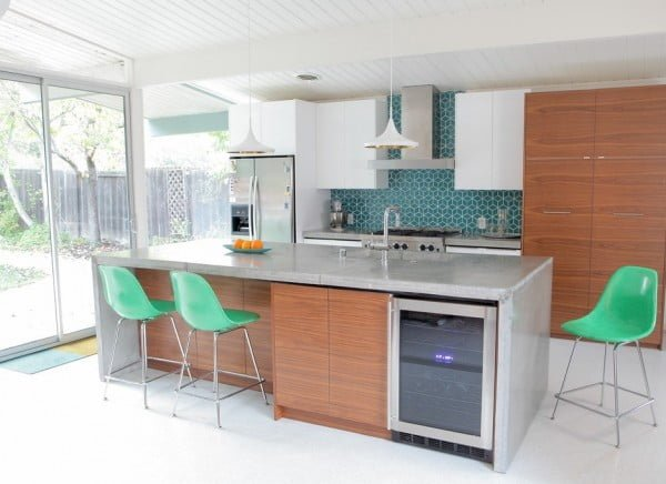 How to Build a Concrete Countertop #DIY #kitchendesign #homedecor