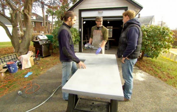 How to Build Custom Concrete Countertops #DIY #kitchendesign #homedecor