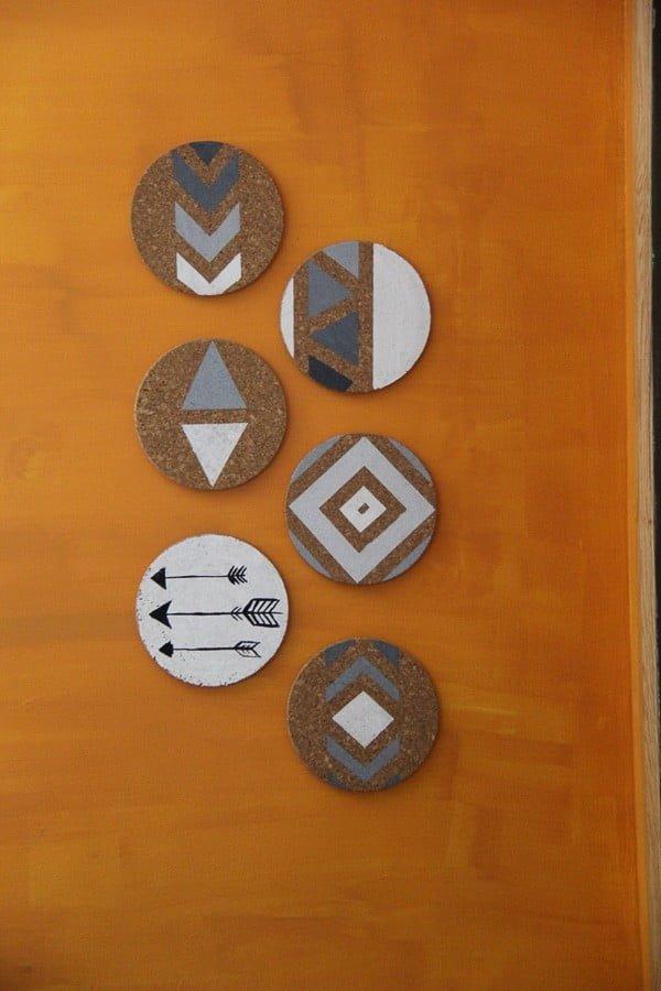 DIY Cork Board Wall Art