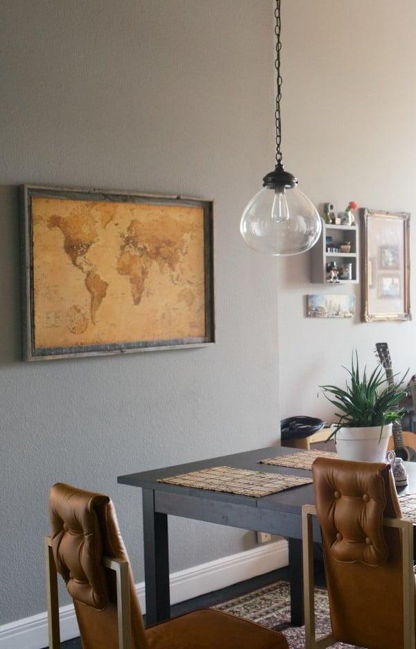 DIY Corkboard Map