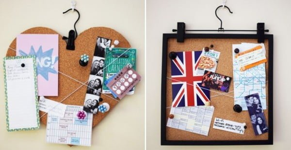 DIY Cork Board: 2 GORGEOUS Designs You Can Make At Home #DIY #homedecor #homeoffice