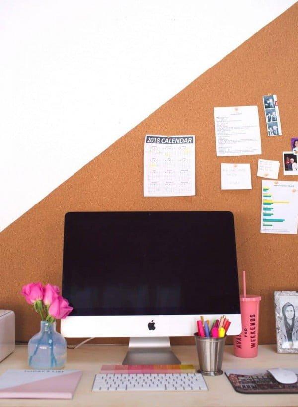 Easy DIY Bulletin Board (Any Shape or Size)
