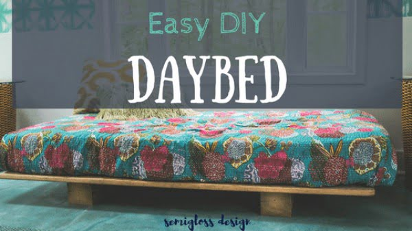 Learn How to Build an Easy DIY Daybed: Perfect for Beginners!
