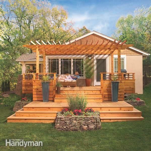 Dream Deck Plans #DIY #deck #woodworking