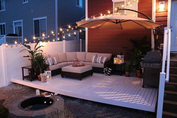 How to Build a Simple DIY Deck on a Budget #DIY #deck #woodworking