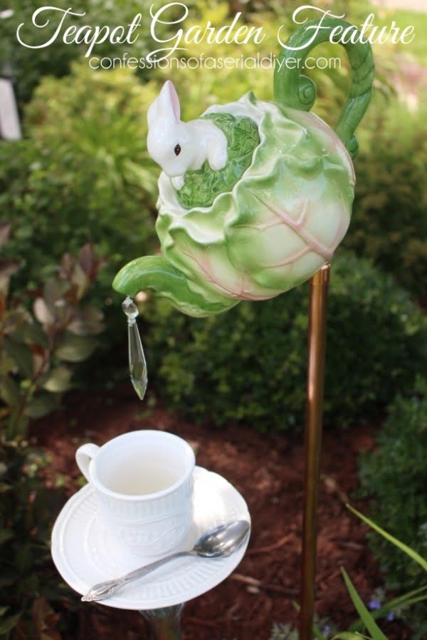 Teapot Garden Feature   art