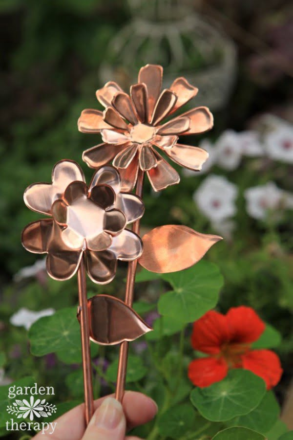 These Copper Garden Art Flowers Will Never Stop Blooming   art