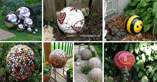 Eye-Catching DIY Garden Balls Inexpensive Decorations   art